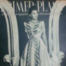 Cinéma: REVISTA PRIMER PLANO. FEBRERO 1943. Nº 122. MARIE DEA. RAUL CANEIO.. Lote 31551743