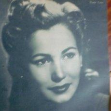 Cine: REVISTA PRIMER PLANO. ENERO 1943. Nº 120. ROSITA YARZA. ELFIE MAYERHOFER.. Lote 31551789