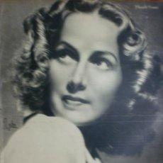 Cine: REVISTA PRIMER PLANO. NOVIEMBRE 1942. Nº 107. MARUCHI FRESNO. ALBERTO ROMEA.. Lote 31551818