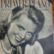 Cine: REVISTA PRIMER PLANO. OCTUBRE 1942. Nº 103. CRISTINA SODERBAUM. CARL RADDATZ.. Lote 31551904