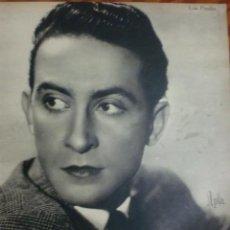 Cine: REVISTA PRIMER PLANO. NOVIEMBRE 1942. Nº 109. LUIS PRENDES. PAOLA BARBARA.. Lote 31551935