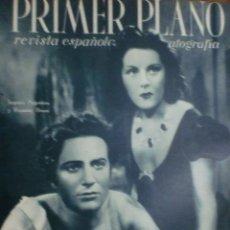 Cine: REVISTA PRIMER PLANO. ENERO 1943. Nº 118. IMPERIO ARGENTINA Y ROSSANO BRAZZI. MARLENE DIETRICH.. Lote 31551967