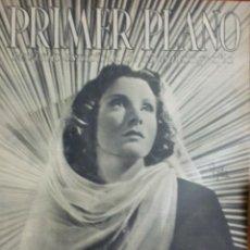 Cine: REVISTA PRIMER PLANO. DICIEMBRE 1942. Nº 114. FRANCES DEE. RONALD COLMAN.. Lote 31552013