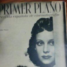 Cine: REVISTA PRIMER PLANO. MARZO 1943. Nº 127. CONCHITA MONTES. LOS ARTISTAS DE CINE SE DIVIERTEN.. Lote 31552078