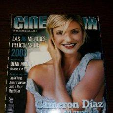 Cine: CINEMANIA Nº 88 (ENERO 2003) - CAMERON DIAZ - CON GUÍA DVD Nº 7. Lote 31553796