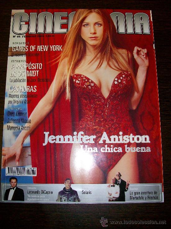 CINEMANIA Nº 89 (FEBRERO 2003) - JENNIFER ANISTON MORTADELO Y FILEMON - CON GUÍA DVD Nº 8 (Cine - Revistas - Cinemanía)