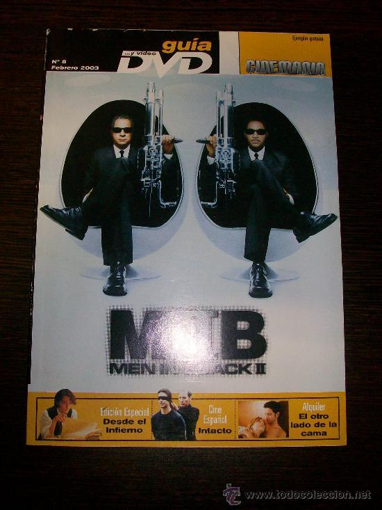 Cine: Cinemania nº 89 (Febrero 2003) - Jennifer Aniston Mortadelo y Filemon - con Guía DVD nº 8 - Foto 2 - 31553851