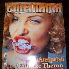 Cine: CINEMANIA Nº 91 (ABRIL 2003) - CHARLIZE THERON - CON GUÍA DVD Nº 10 Y DOS SUPLEMENTOS MÁS. Lote 31553972