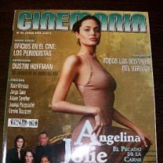 Cine: CINEMANIA Nº 93 (JUNIO 2003) - ANGELINA JOLIE - MATRIX RELOADED. Lote 31554045