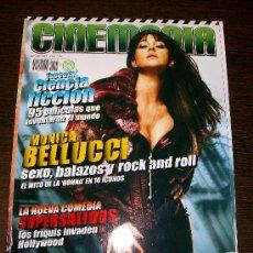 Cine: CINEMANIA Nº 145 (OCTUBRE 2007) - MONICA BELLUCCI - ESPECIAL CIENCIA FICCIÓN. Lote 51462016