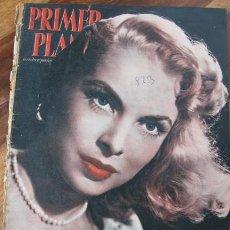Cine: REVISTA PRIMER PLANO CON JANET LEIGH EN LA PORTADA. Lote 31562476