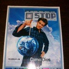 Cine: SUPLEMENTO CINEMANIA STOP Nº 2 (DICIEMBRE 2003) - JIM CARREY COMO DIOS. Lote 31577673