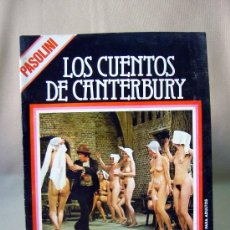 Cine: REVISTA, FILM DOCUMENTO, LOS CUENTO DE CANTERBURY, EDINAPER, 1977. Lote 31676111