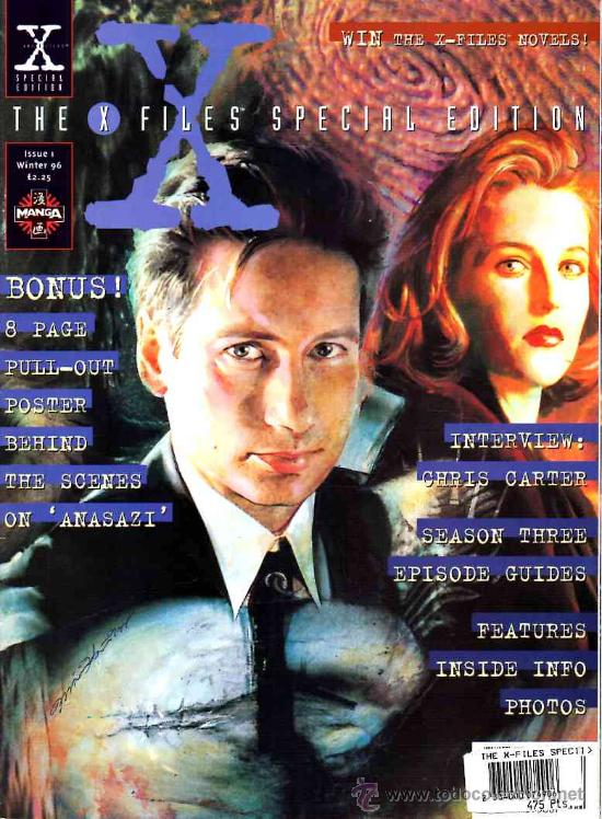 THE X-FILES SPECIAL EDITION # 1 (MANGA PUBLISHING,1996) - UK EDITION (Cine - Revistas - Otros)