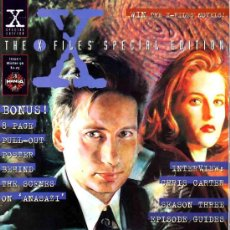 Cine: THE X-FILES SPECIAL EDITION # 1 (MANGA PUBLISHING,1996) - UK EDITION. Lote 31610241