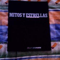 Cine: MITOS Y ESTRELLAS DE LA HISTORIA DEL CINE (LAMINAS CINEMANIA)(FOTOS 30X21, 12 MITOS Y 12 ESTRELLAS). Lote 31660487