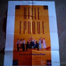 Cine: POSTER CARTELMANIA Nº 11 BELLE EPOQUE (84X58) CON ESTUDIO POR DETRAS Y FILMOGRAFIA. Lote 31660789