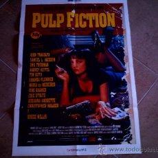 Cine: POSTER CARTELMANIA Nº 8 PULP FICTION (84X58) CON ESTUDIO POR DETRAS Y FILMOGRAFIA. Lote 31660861