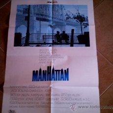 Cine: POSTER CARTELMANIA Nº 4 MANHATTAN (84X58) CON ESTUDIO POR DETRAS Y FILMOGRAFIA. Lote 31660914