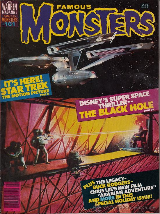 FAMOUS MONSTERS OF FILMLAND # 161 (WARREN PUBLISHING,1979) - STAR TREK (Cine - Revistas - Otros)