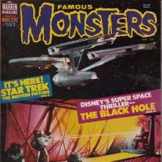 Cine: FAMOUS MONSTERS OF FILMLAND # 161 (WARREN PUBLISHING,1979) - STAR TREK. Lote 31829728