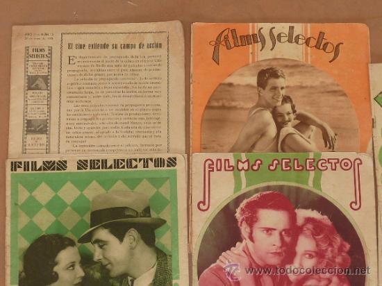 Cine: Lote de 5 revistas de cine, films selectos. Años 30s. - Foto 2 - 31873350