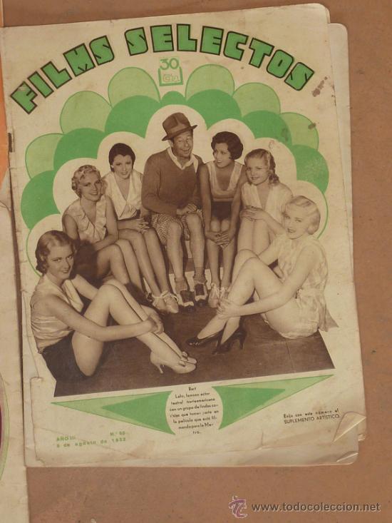 Cine: Lote de 5 revistas de cine, films selectos. Años 30s. - Foto 3 - 31873350