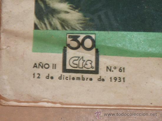Cine: Lote de 5 revistas de cine, films selectos. Años 30s. - Foto 4 - 31873350