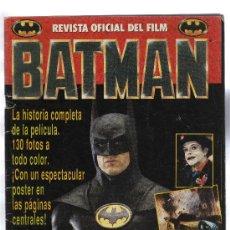 Cine: REVISTA OFICIAL DEL FILM BATMAN . Lote 96299371