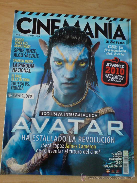 Cine: REVISTA CINEMANIA PELICULA AVATAR. - Foto 1 - 31918731