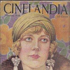 Cine: CINELANDIA, FEBRERO DE 1928, ART DECO. Lote 31988211