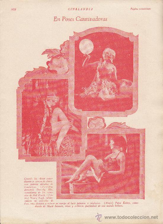 Cine: Cinelandia, Febrero de 1928, art deco - Foto 5 - 31988211