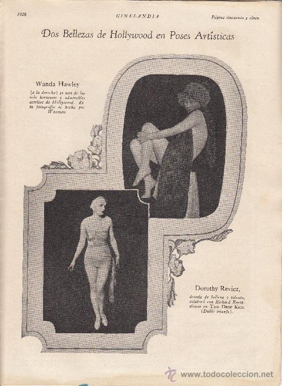 Cine: Cinelandia, Febrero de 1928, art deco - Foto 6 - 31988211