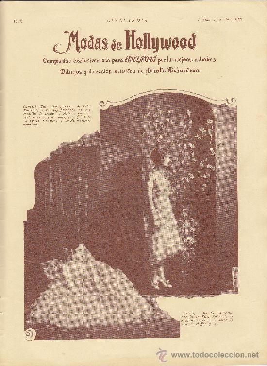 Cine: Cinelandia, Febrero de 1928, art deco - Foto 7 - 31988211