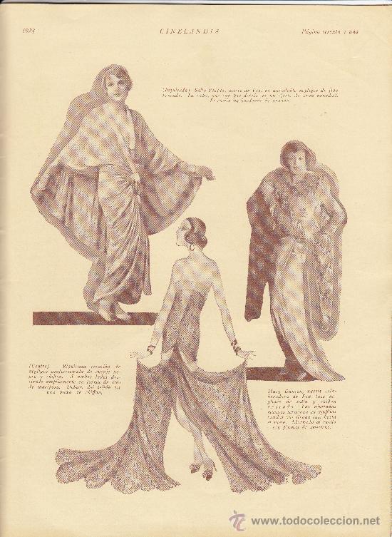 Cine: Cinelandia, Febrero de 1928, art deco - Foto 8 - 31988211