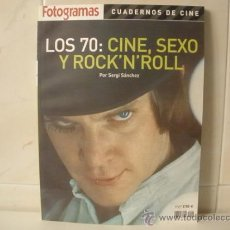 Cine: LOS 70 CINE, SEXO Y ROCK'N'ROLL - FOTOGRAMAS 2004. Lote 32165899