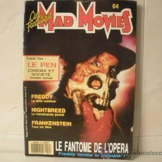 Cine: MAD MOVIES Nº 64 CINE FANTASTIQUE -EN FRANCES. Lote 32166891