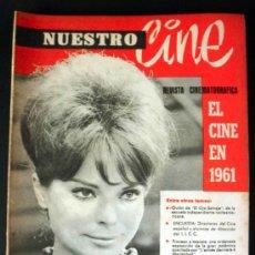 Cine: NUESTRO CINE Nº 6-7 EL CINE EN 1961 * EL OJO SALVAJE * PROCESO A RESNAIS * FOTO DE NURIA ESPERT. Lote 32208928