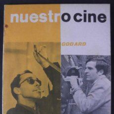 Cine: NUESTRO CINE Nº 40 GODARD * TRUFFAUT * BUÑUEL * GUION DR. ZIVAGO * 1965. Lote 32216270