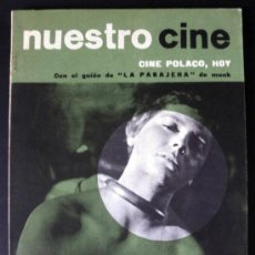 Cine: NUESTRO CINE Nº 41 CINE POLACO LA PASAJERA DE MUNK * CINE ARGENTINA. Lote 32216303