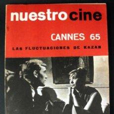 Cine: NUESTRO CINE Nº 42 CANNES 65 KAZAN * CINE BRASILEÑO * LEONARDO FAVIO * . Lote 32216471