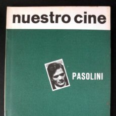 Cine: NUESTRO CINE Nº 46 PASOLINI * FESTIVAL GIJON Y SANTANDER * 1965. Lote 32216658