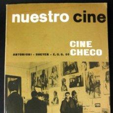 Cine: NUESTRO CINE Nº 47 CINE CHECO * ANTONIONI * DREYER * CRITICA A MY FAIR LADY Y A ZORBA EL GRIEGO. Lote 32216705