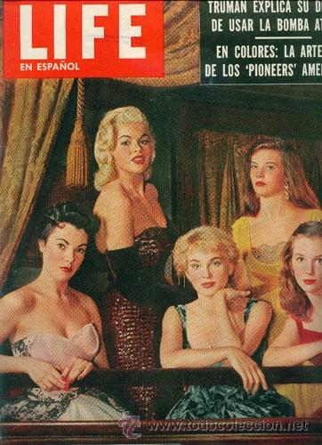 JAYNE MANSFIELD (REVISTA LIFE) (Cine - Revistas - Otros)