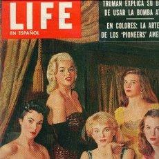 Cine: JAYNE MANSFIELD (REVISTA LIFE). Lote 32219126