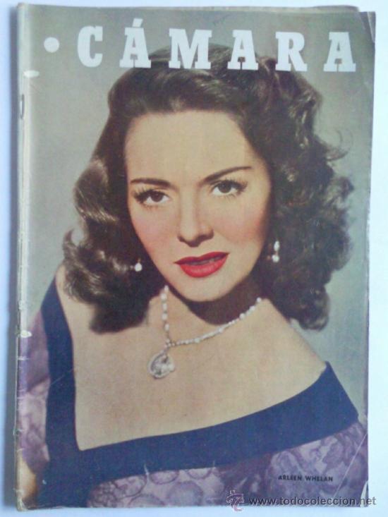 REVISTA CAMARA ,- Nº 203 ,- JUNIO 1951, PORTADA, ARLEEN WHELAN (Cine - Revistas - Cámara)