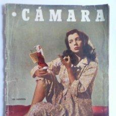 Cine: REVISTA CAMARA ,- Nº 100 ,- MARZO 1947, PORTADA ISA BARZIZZA. Lote 32234284