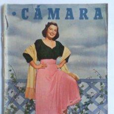 Cine: REVISTA CAMARA ,- Nº 160 ,- SEPTIEMBRE 1949, PORTADA BARBARA BATES. Lote 32234285
