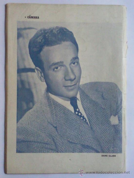 Cine: REVISTA CAMARA ,- Nº 160 ,- SEPTIEMBRE 1949, PORTADA BARBARA BATES - Foto 2 - 32234285
