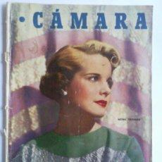 Cine: REVISTA CAMARA ,- Nº 163 ,- OCTUBRE 1949, PORTADA MONA FREEMAN. Lote 32234286